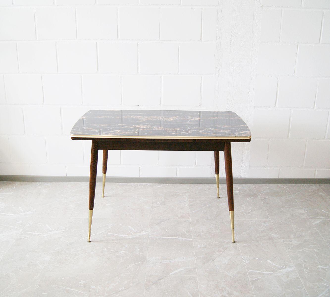 Coffee Table Extendable Legs: Height-Adjustable And Extendable Coffee Table, 1950s For