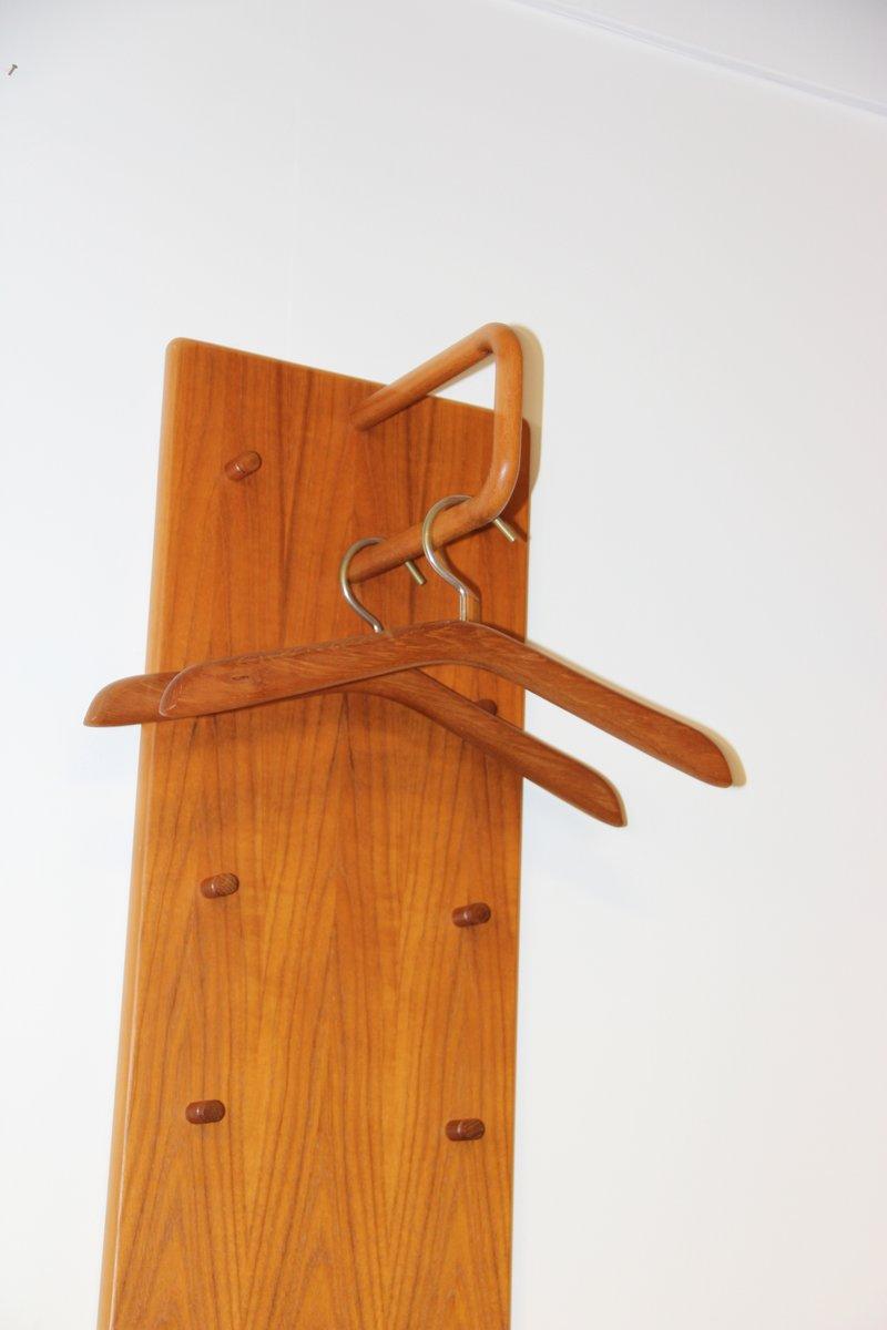 vintage garderobe mit spiegel von vildbjerg m belfabrik. Black Bedroom Furniture Sets. Home Design Ideas