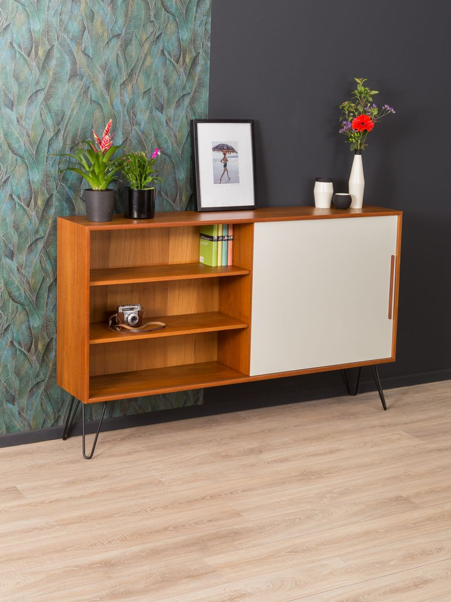 mid century sideboard from wk m bel 1950s for sale at pamono. Black Bedroom Furniture Sets. Home Design Ideas