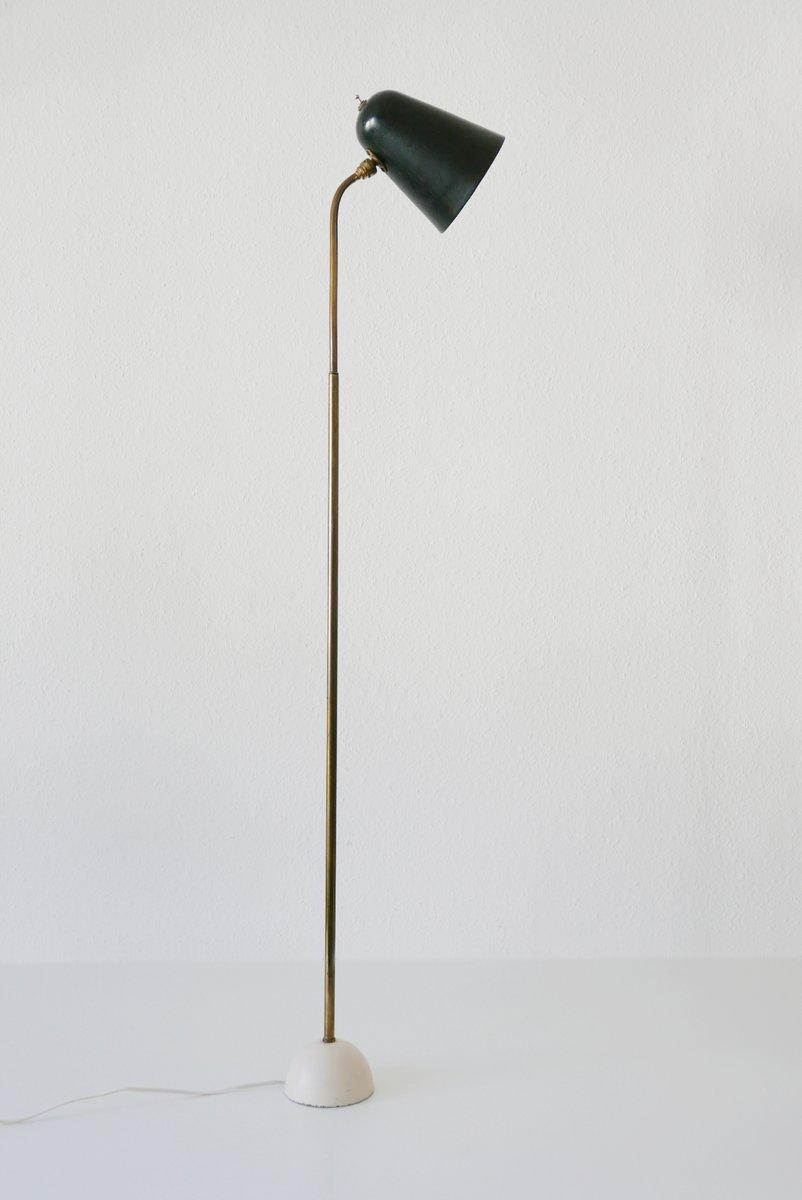 Mid-Century Lese-Stehlampe mit Gelenk, 1950er
