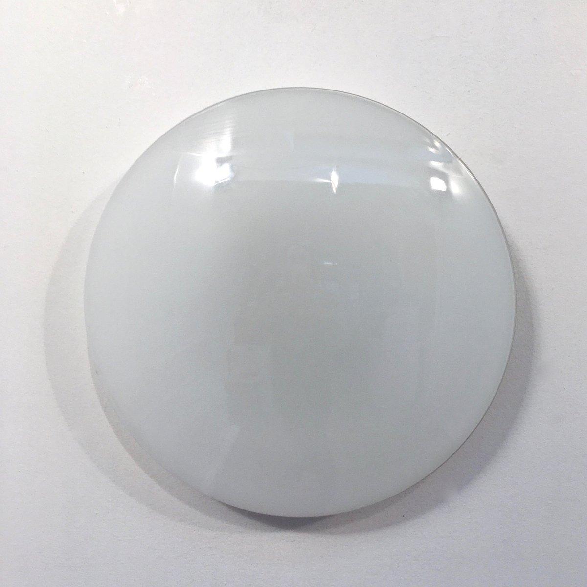 Wandlampe aus Opalglas von Louis Poulsen, 1970er