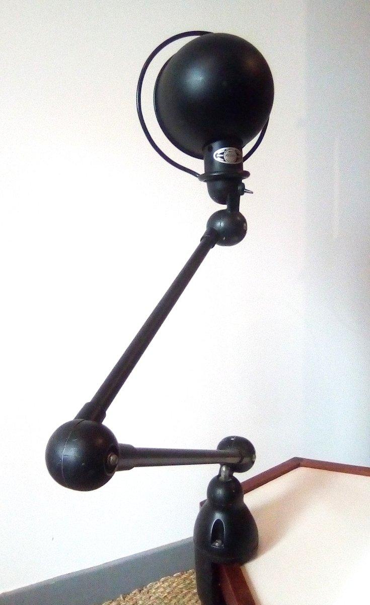 lampe de bureau pince vintage par jean louis domecq pour. Black Bedroom Furniture Sets. Home Design Ideas