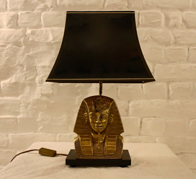 Vintage Pharaonenlampe von Deknudt, 1970er