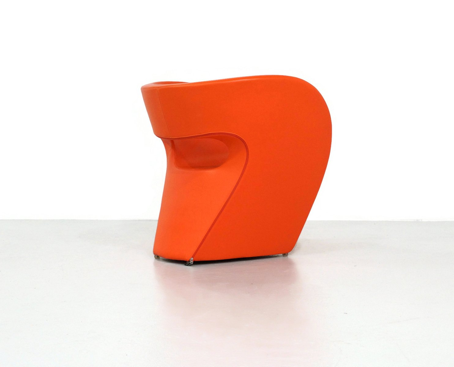 Orange Leather Victoria Amp Albert Chair By Ron Arad For
