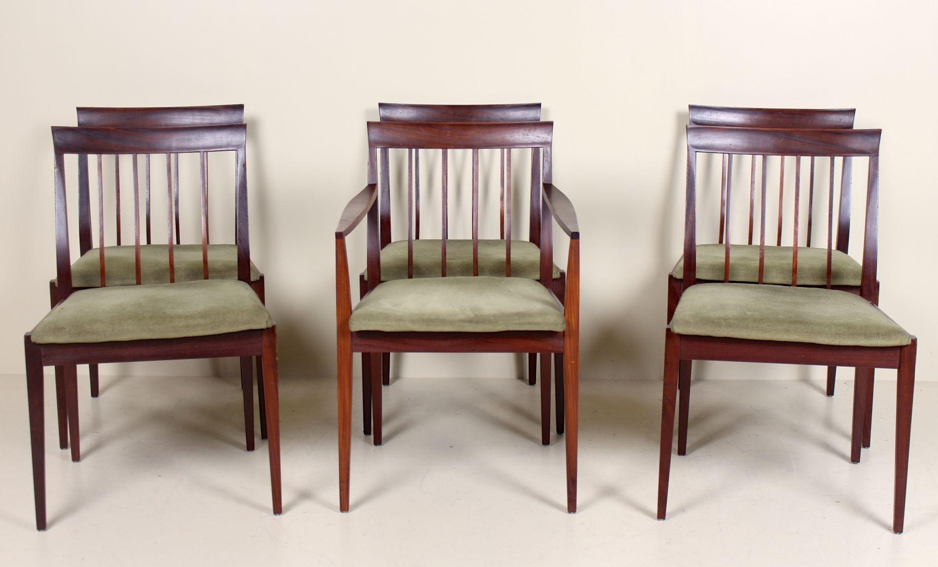 Vintage Esstisch & 6 Stühle 1970er bei Pamono kaufen