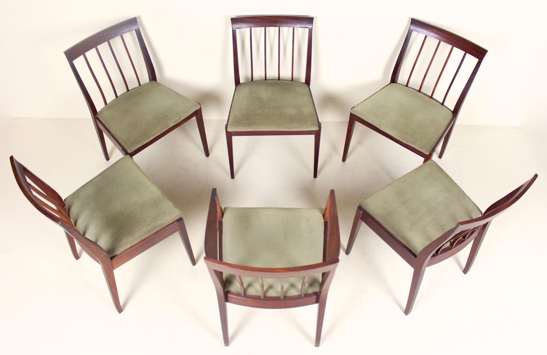 Esstisch 6 Stühle : vintage esstisch 6 st hle 1970er bei pamono kaufen ~ Eleganceandgraceweddings.com Haus und Dekorationen