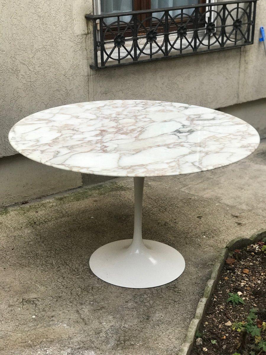 Table vintage en marbre par eero saarinen pour knoll international 1973 en vente sur pamono - Tavolo saarinen knoll originale ...