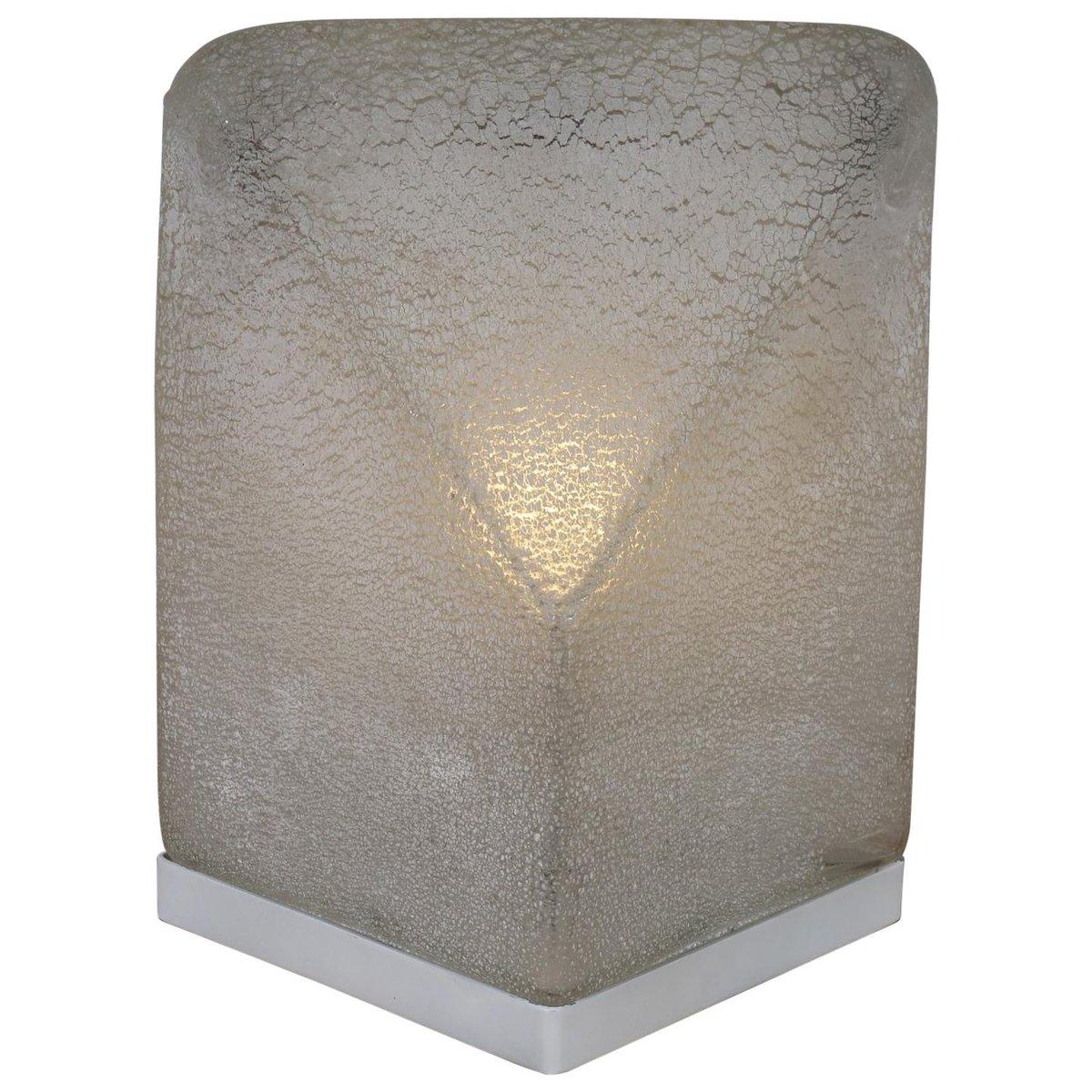 Tischlampe aus Muranoglas von Alfredo Barbini, 1970er
