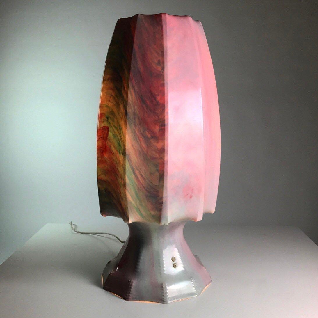 Space Age Vintage Stehlampe aus Kunststoff von ILKA