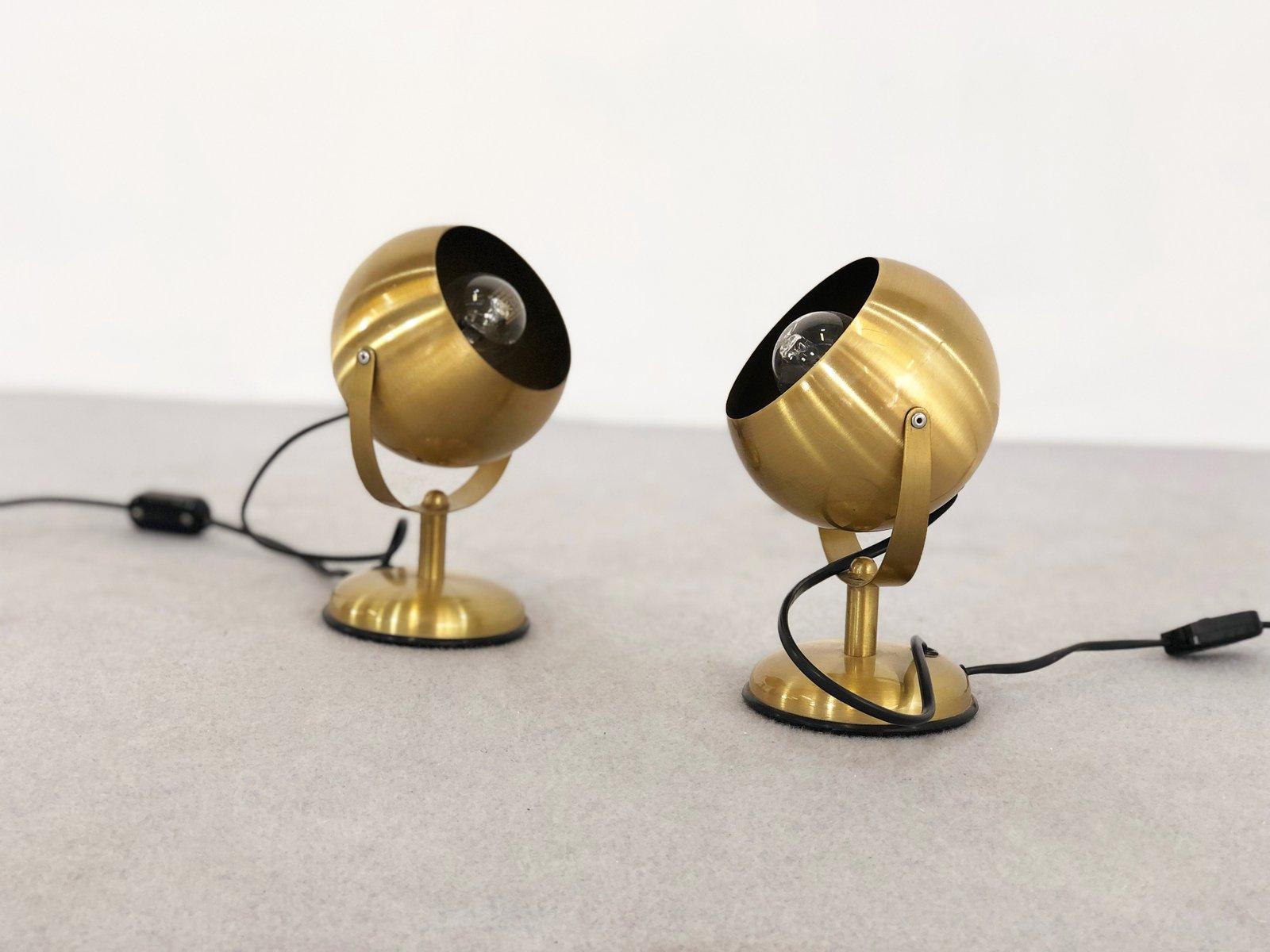 Space Age Vintage Tischlampen von Goffredo Reggiani, 2er Set