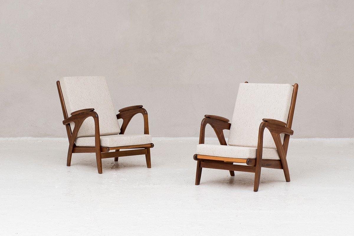 Niederländische Sessel, 1960er, 2er Set