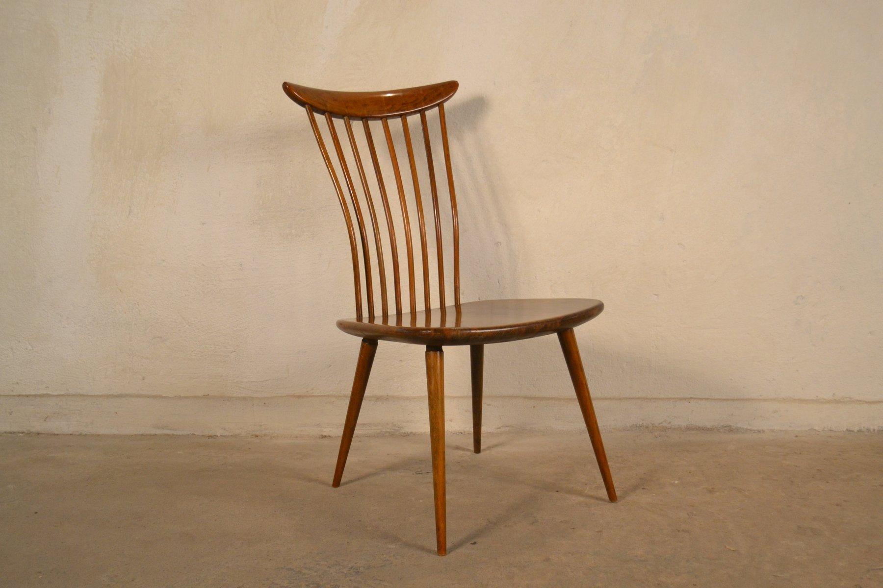 chaise d 39 appoint vintage par bengt akerblom gunnar ekl f pour akerblom 1950s en vente sur pamono. Black Bedroom Furniture Sets. Home Design Ideas