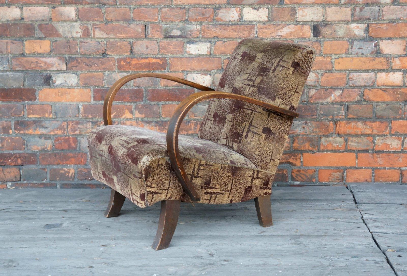 Tschechischer Vintage Sessel, 1950er