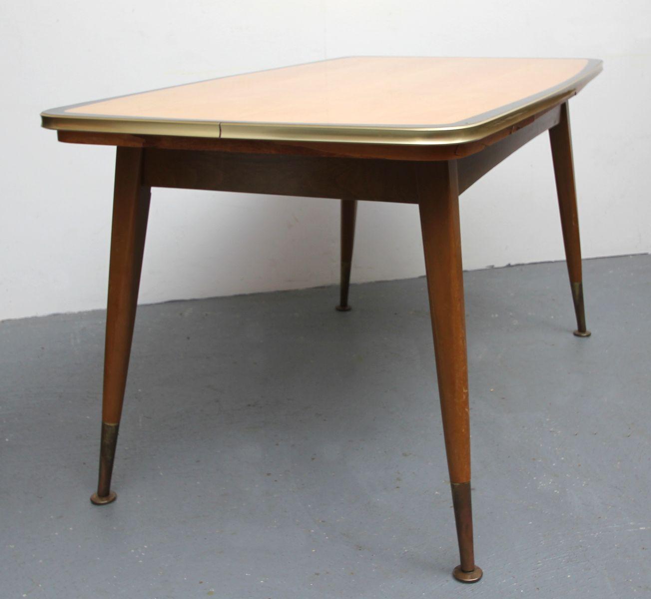Table basse hauteur ajustable en rable 1950s en vente sur pamono - Table basse ajustable en hauteur ...