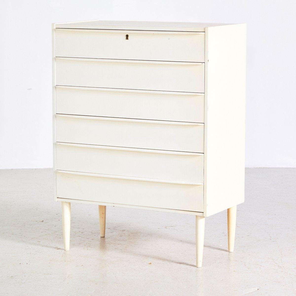 wei e d nische vintage kommode 1960er bei pamono kaufen. Black Bedroom Furniture Sets. Home Design Ideas