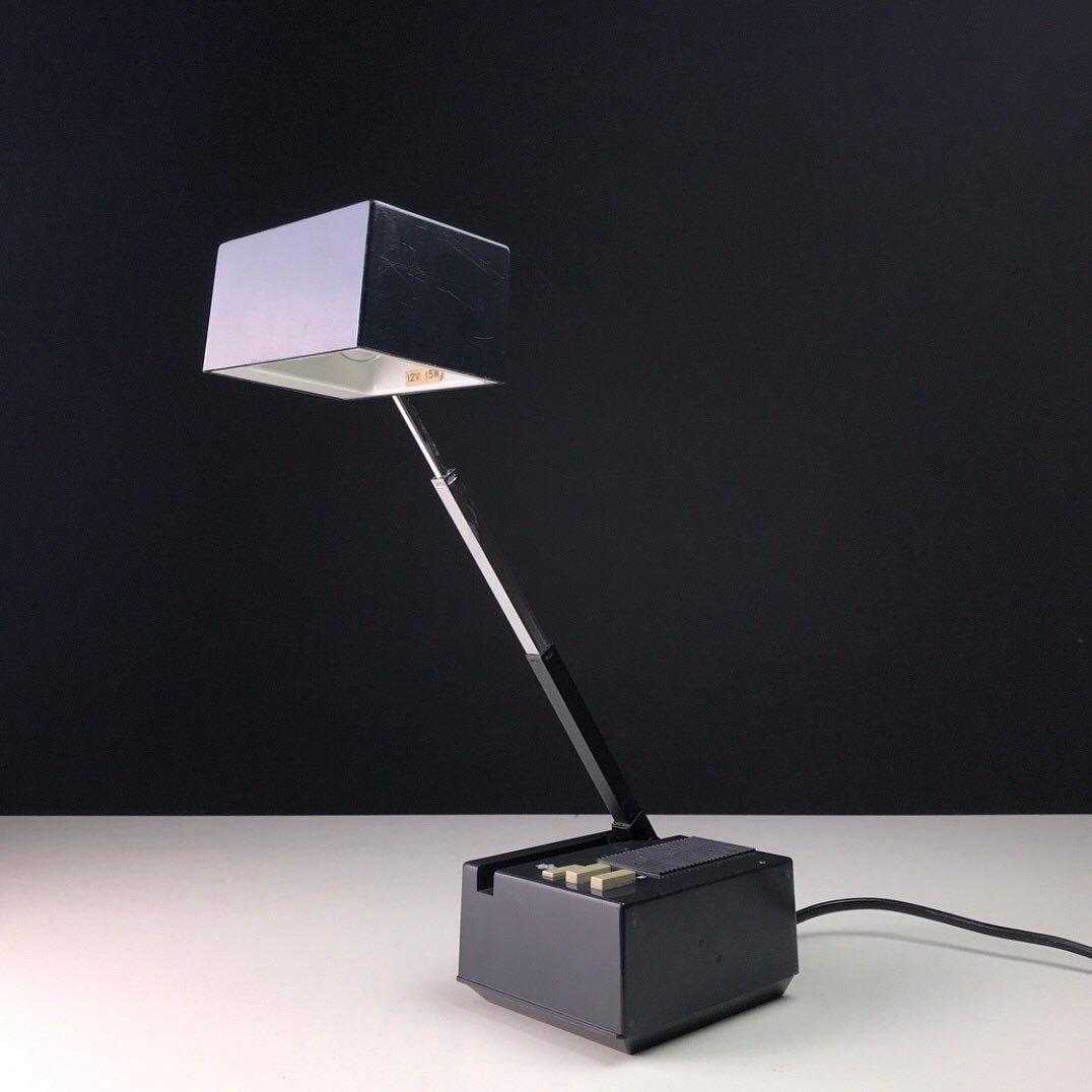 Dänische Vintage Tischlampe von HBH, 1970er.