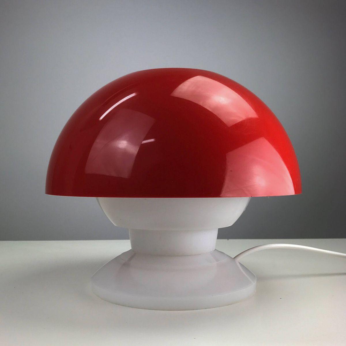 Space Age Tischlampe von Bent Karlby für ASK Denmark, 1970er