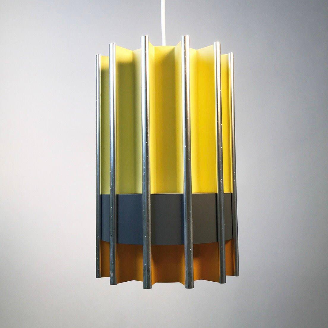 Mid-Century Deckenlampe von Bent Karlby für LYFA, 1960er
