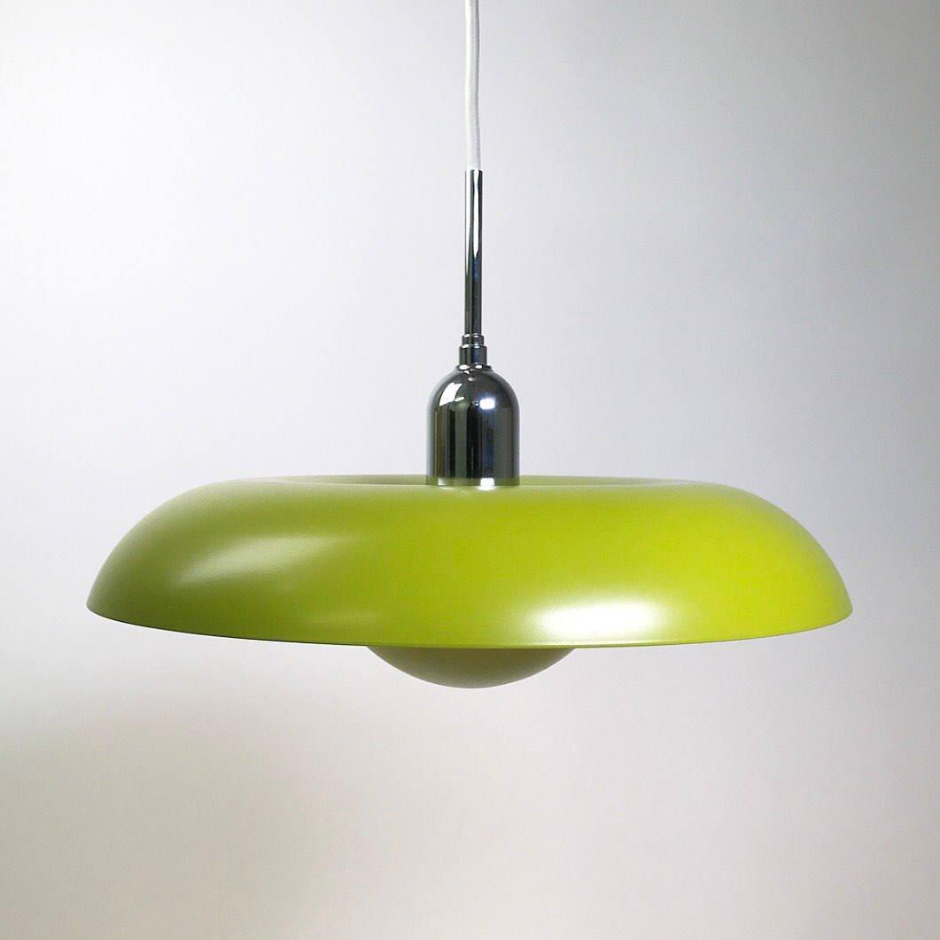 Grüne Space Age Ra Deckenlampe von Piet Hein für Lyfa, 2006
