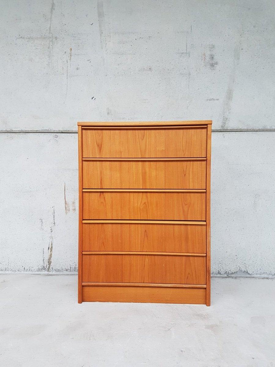 d nische mid century kommode 1970er bei pamono kaufen. Black Bedroom Furniture Sets. Home Design Ideas