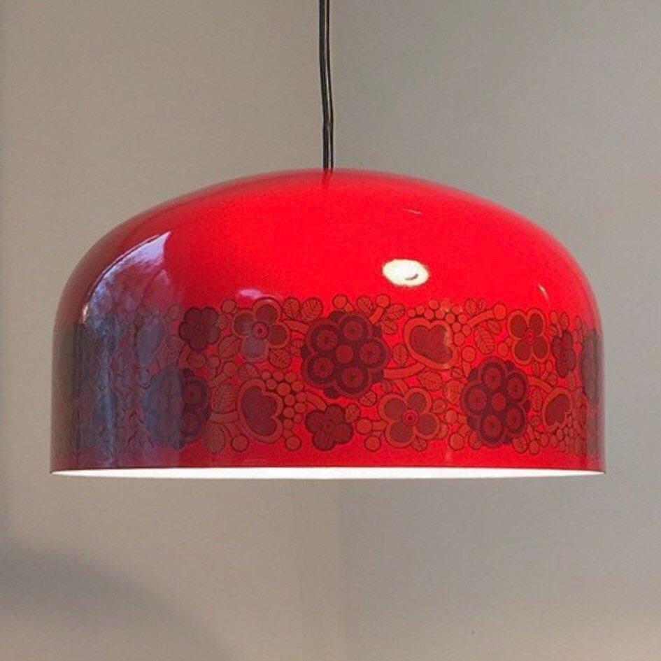 Deckenlampe von Kaj Franck & Raija Uosikkinen für Arabia & Fog & Mørup...