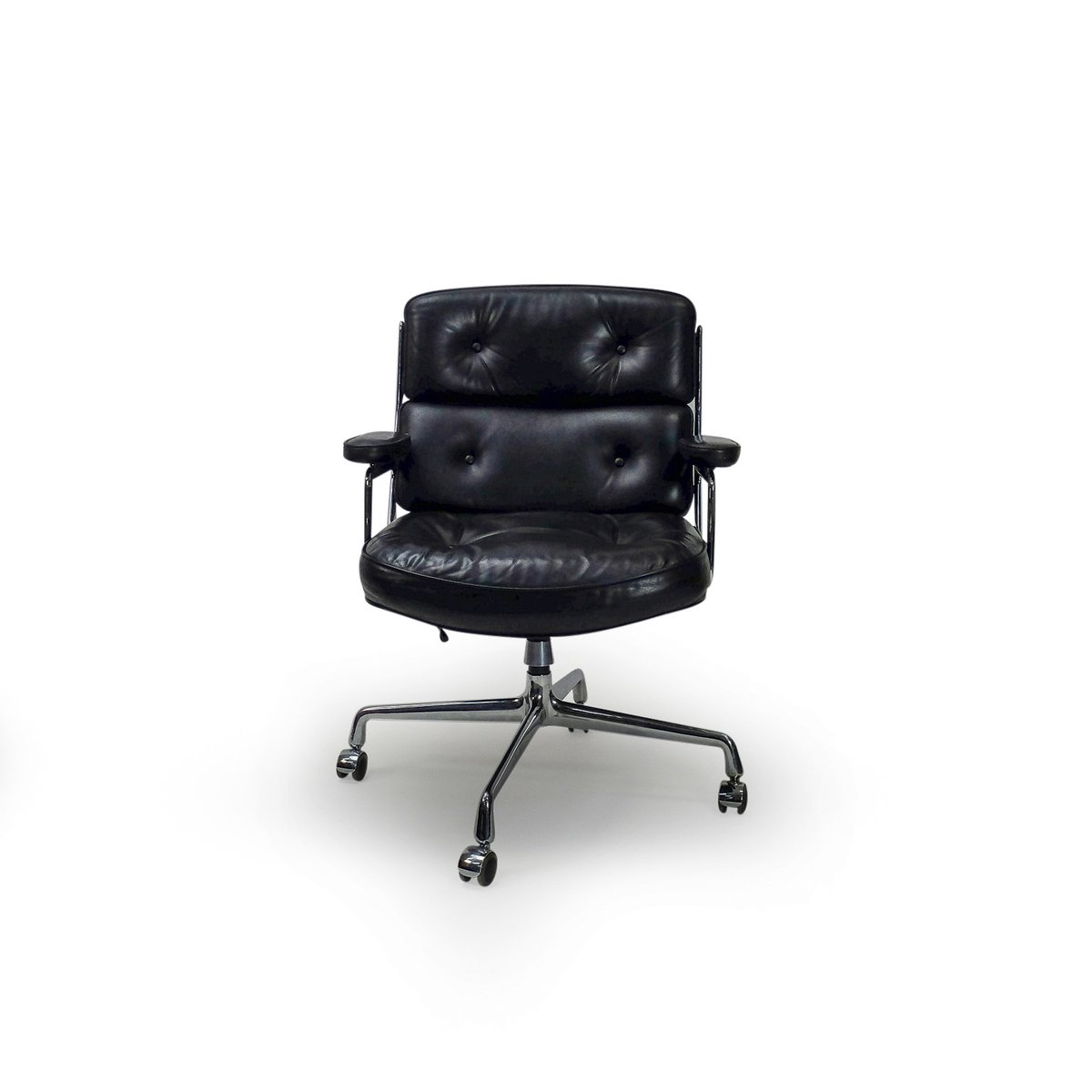 chaise time life lobby es104 vintage par charles ray eames pour vitra en vente sur pamono. Black Bedroom Furniture Sets. Home Design Ideas