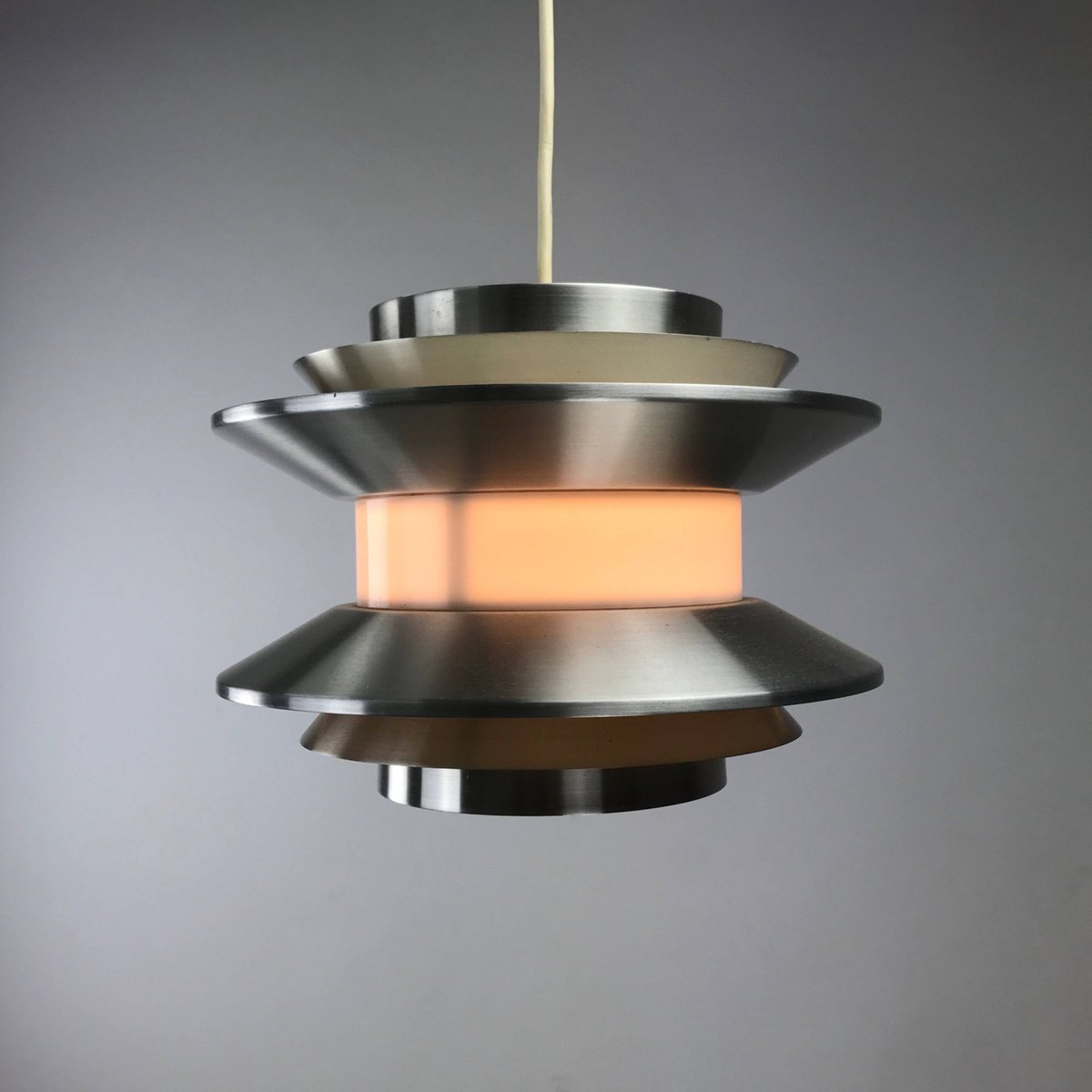Mid Century Modern Ceiling Light By Carl Thore For Granhaga Metal