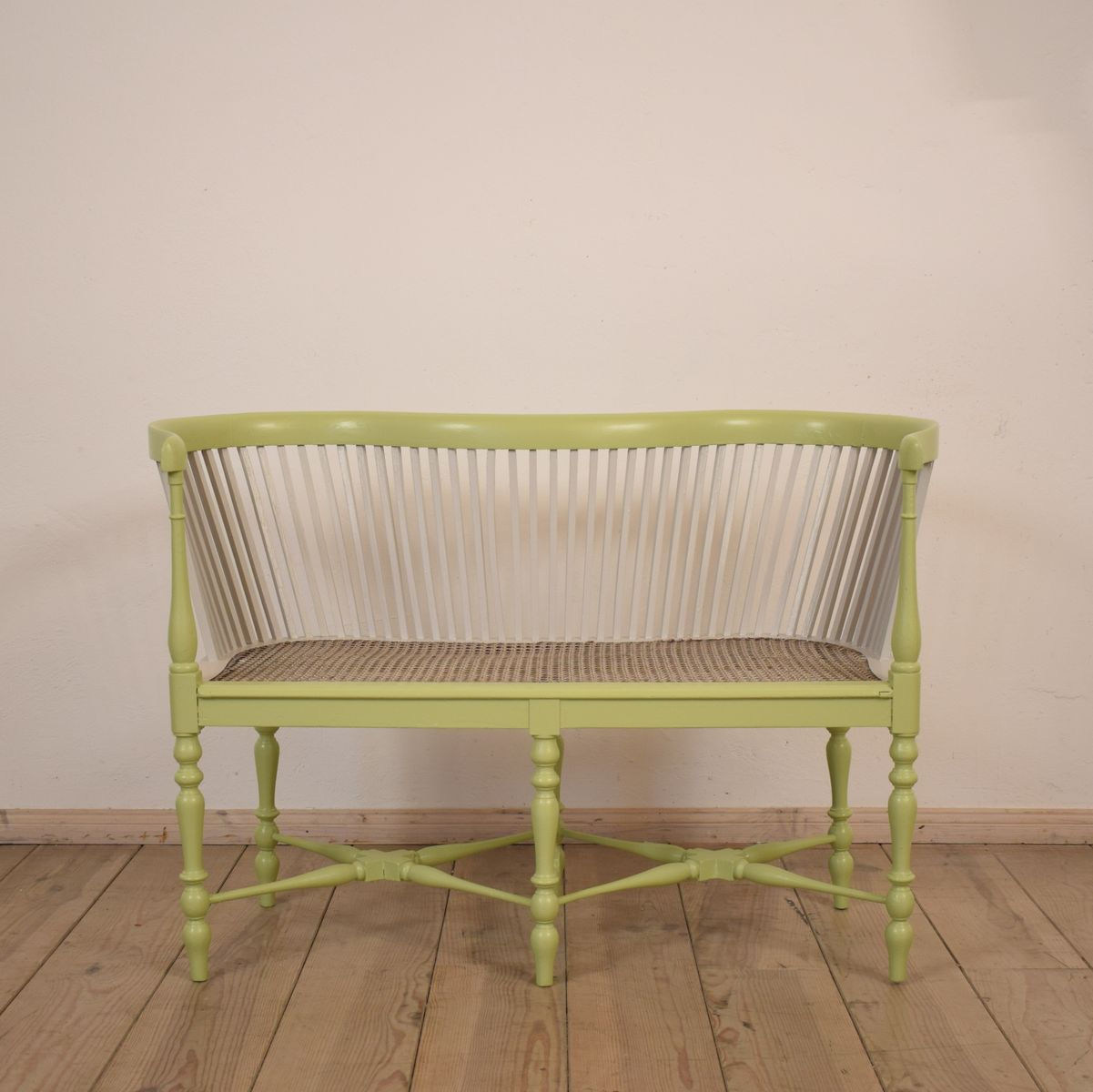 Small French Antique Bench