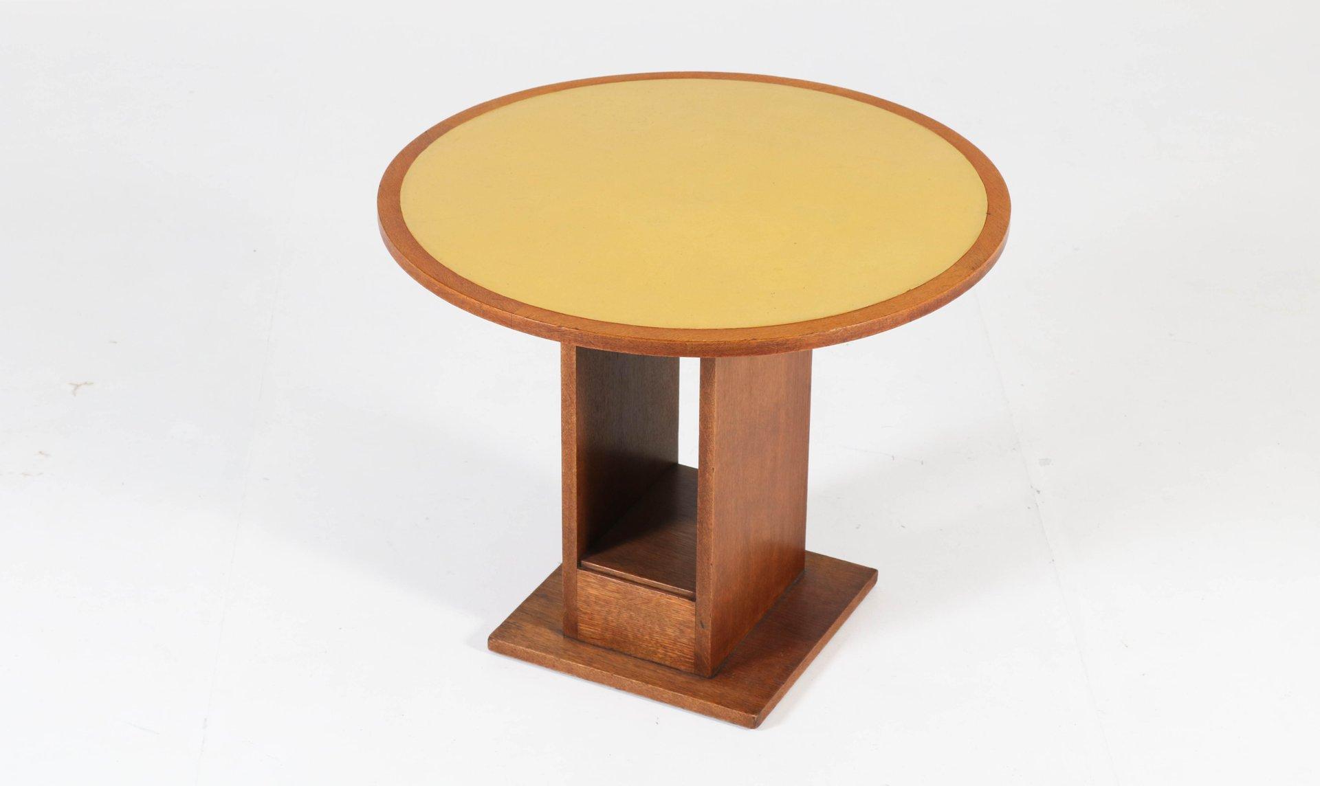 table basse cole de la haye art d co par willem penaat pour metz co 1930s en vente sur pamono. Black Bedroom Furniture Sets. Home Design Ideas