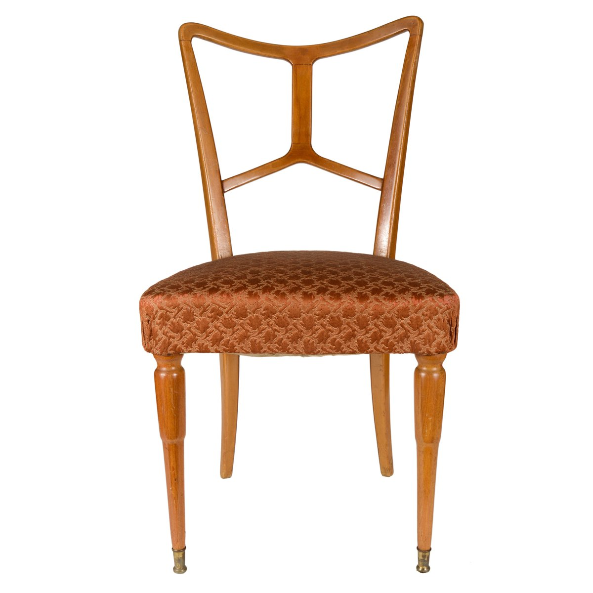 Italian Wooden Dining Chairs 1940s Set Of 4 For Sale At