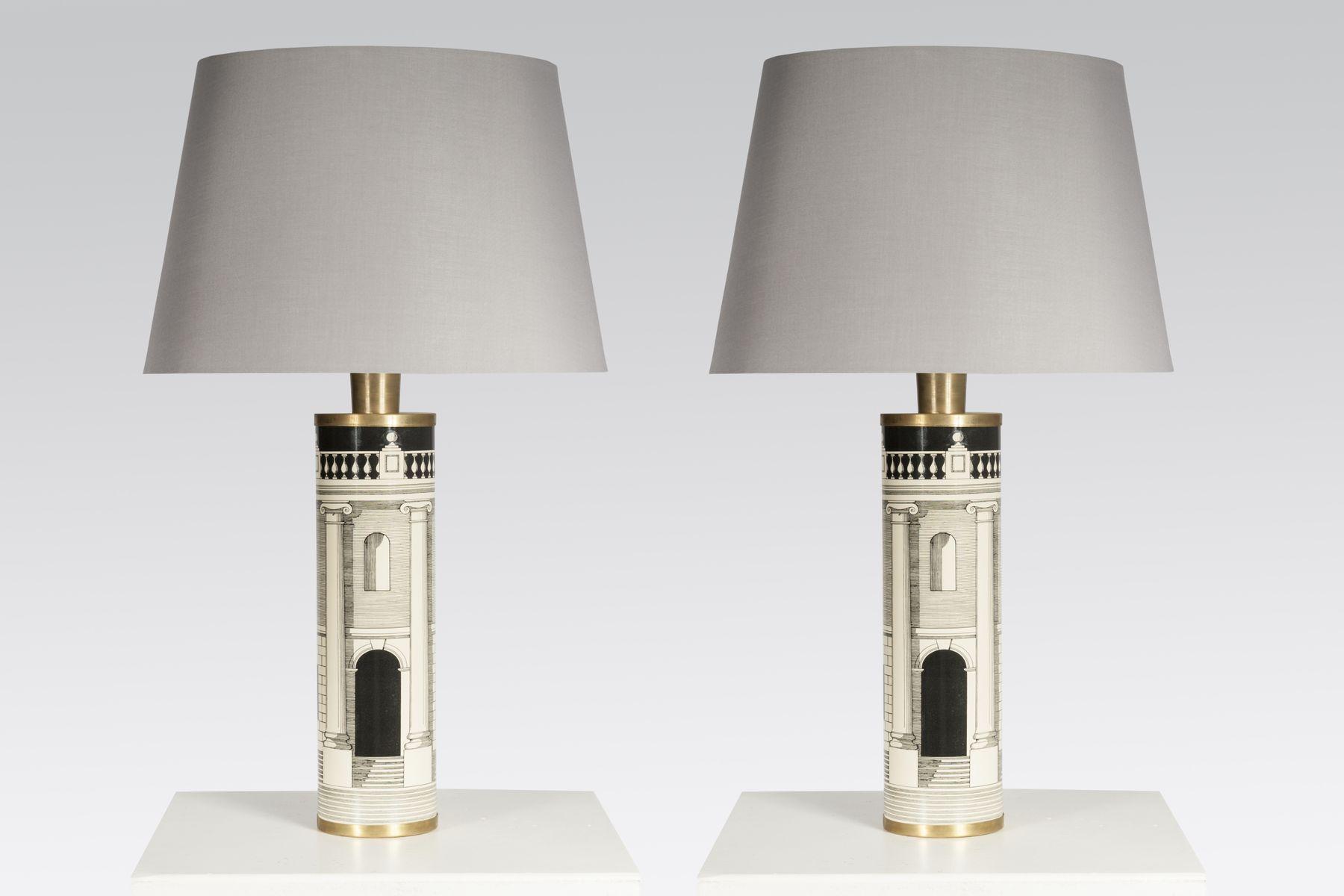 Vintage Tischlampe von Atelier Fornasetti, 1980er