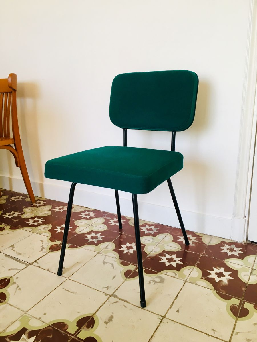 chaise d 39 appoint vintage par andr simard pour airborne en vente sur pamono. Black Bedroom Furniture Sets. Home Design Ideas