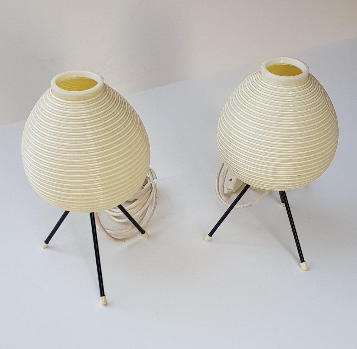 Vintage tischlampen auf dreibein von heifetz rotaflex for Tischlampen vintage