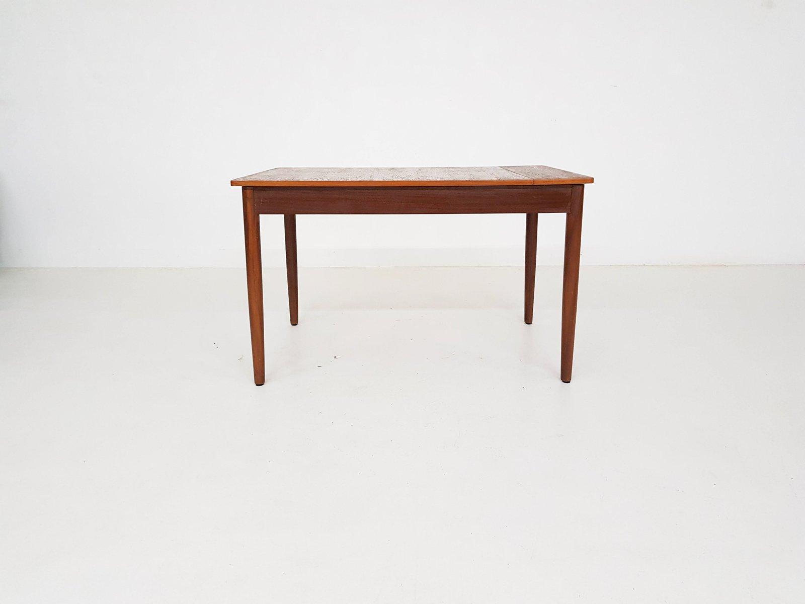Table de salle manger vintage avec rallonge d 39 extension en vente sur pamono for Table salle a manger avec rallonge