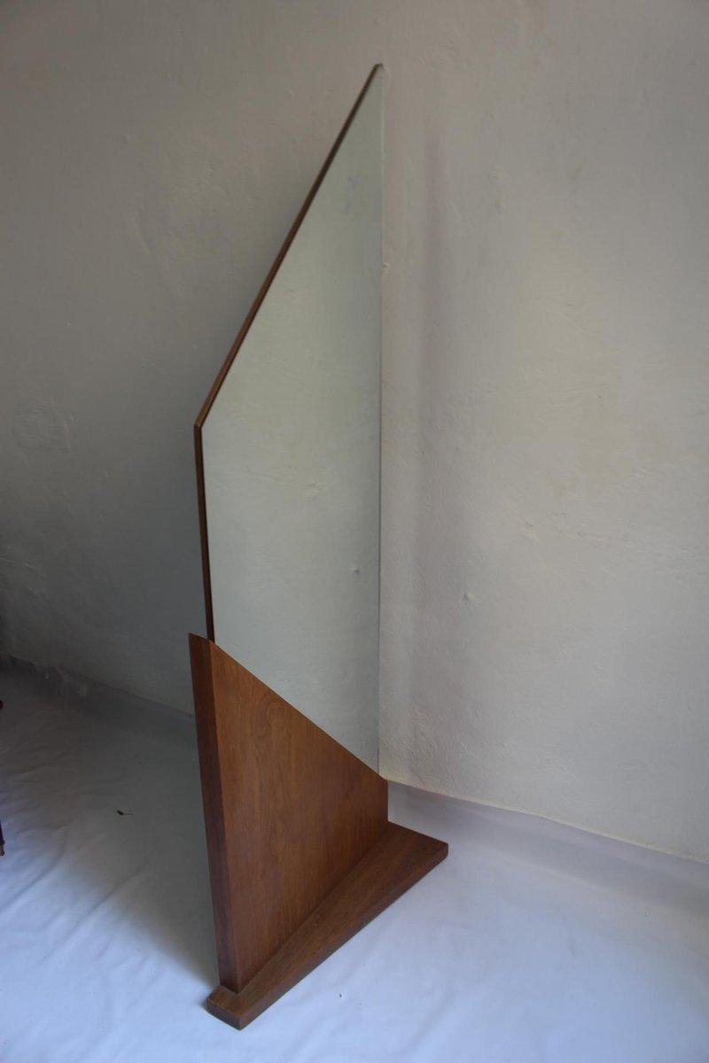 coiffeuse avec miroir g om trique art d co 1930s en vente. Black Bedroom Furniture Sets. Home Design Ideas