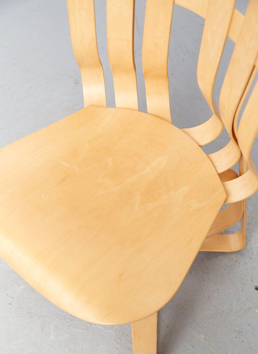 Vintage Hat Trick Chair By Frank Gehry For Knoll