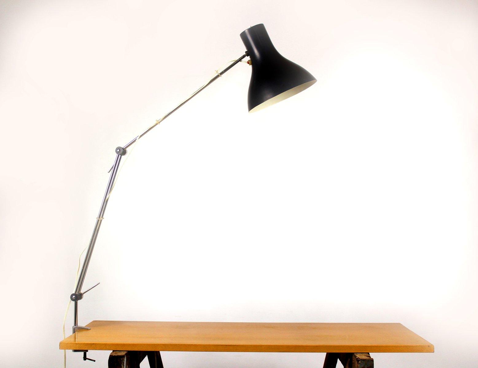 Industrielle Arbeits-Tischlampe von Josef Hurka für Napako, 1960er