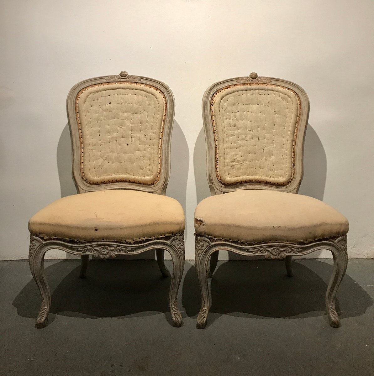 19th Century Rococo Chairs 1850s Set Of 2 For Sale At Pamono