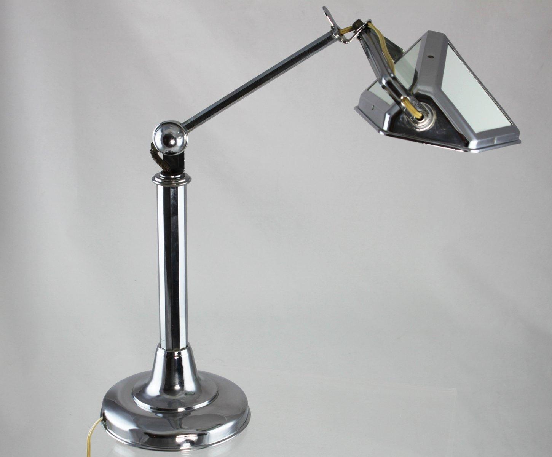 Art Deco Tischlampe von Pirouett, 1920er