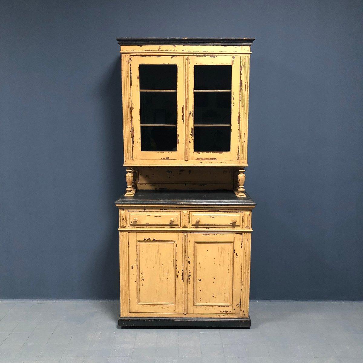 Credenza da cucina antica, Francia, fine XIX secolo in vendita su Pamono