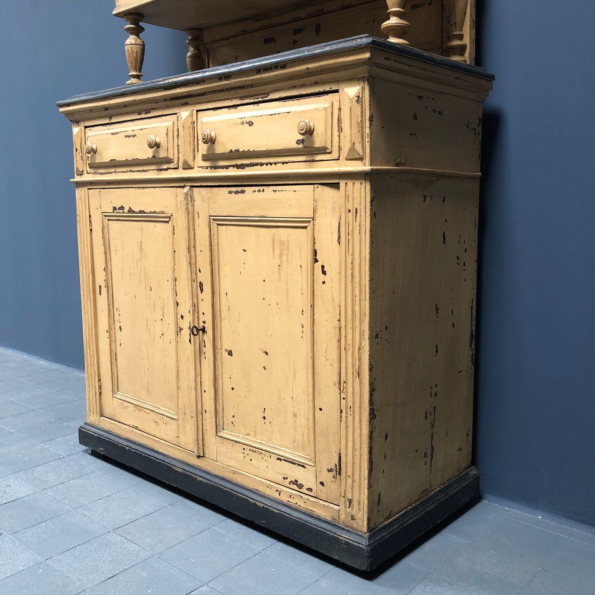 Antiker Französischer Küchenschrank, 1880er Bei Pamono Kaufen