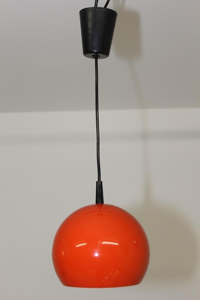 Kugelförmige deutsche Vintage Hängelampe von Brillant Leuchten