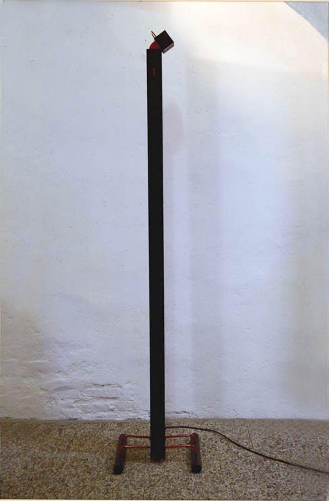 Vintage Zagar Halogen Stehlampe von Silvio Carpani für Stilnovo, 1978