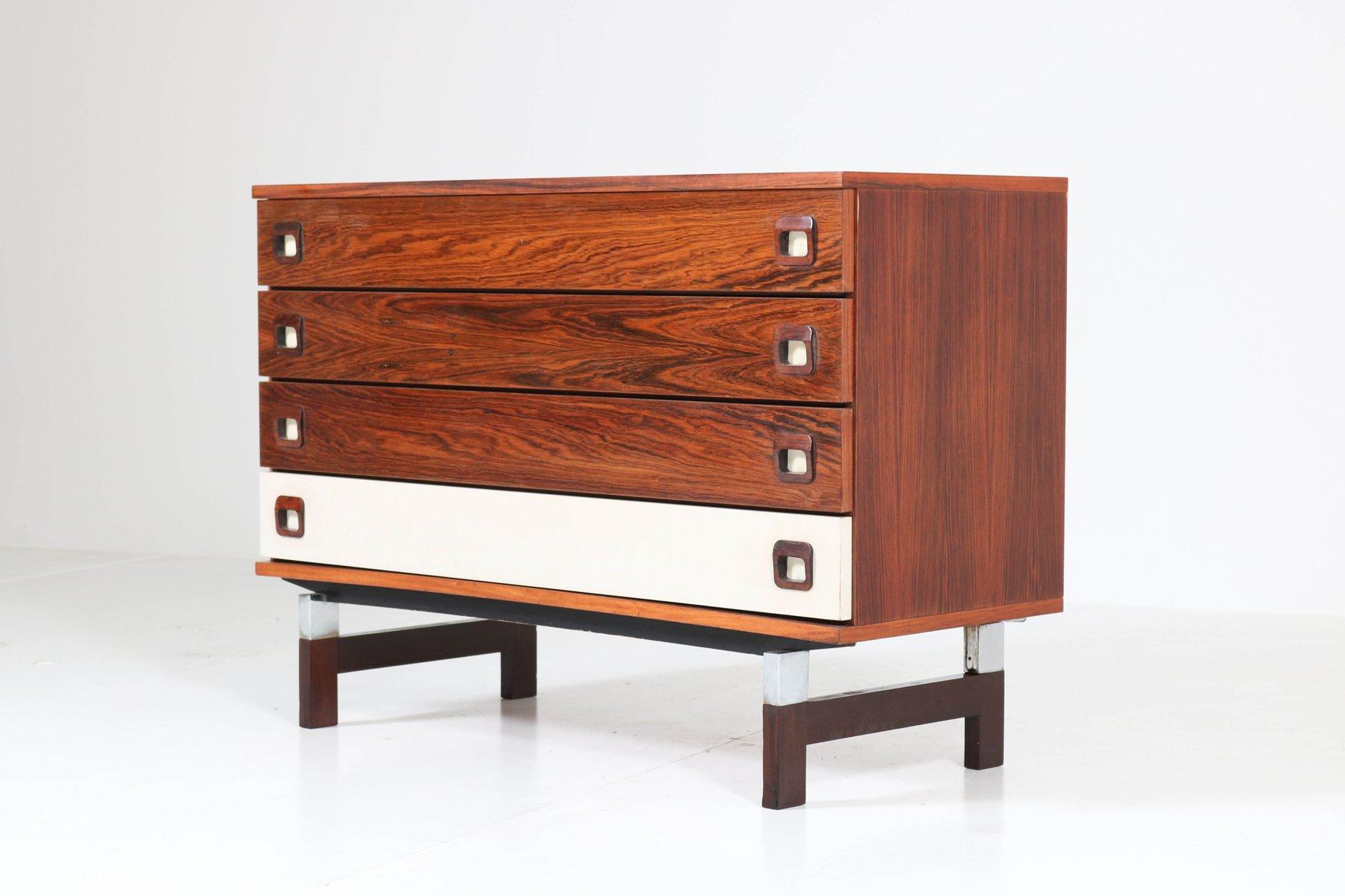 belgische mid century kommode aus palisander 1960er bei. Black Bedroom Furniture Sets. Home Design Ideas