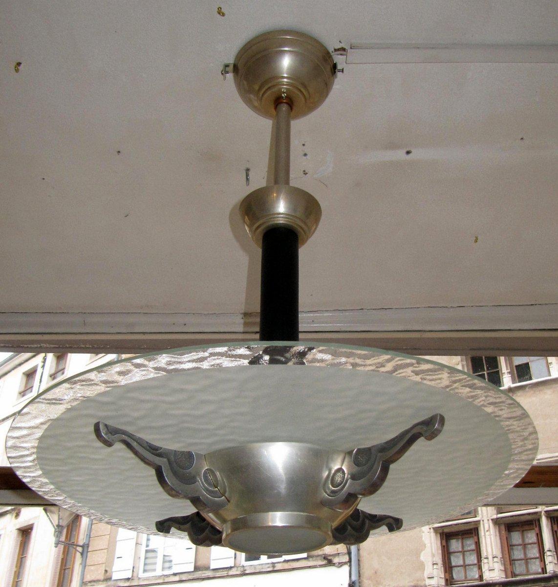 Kleiner Art Deco Kronleuchter