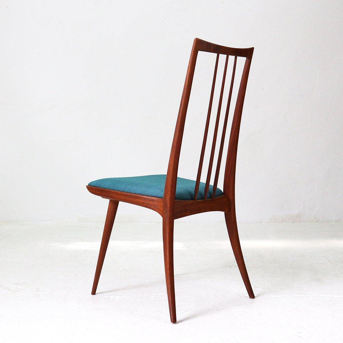 Mid Century Teak Chair Bei Pamono Kaufen