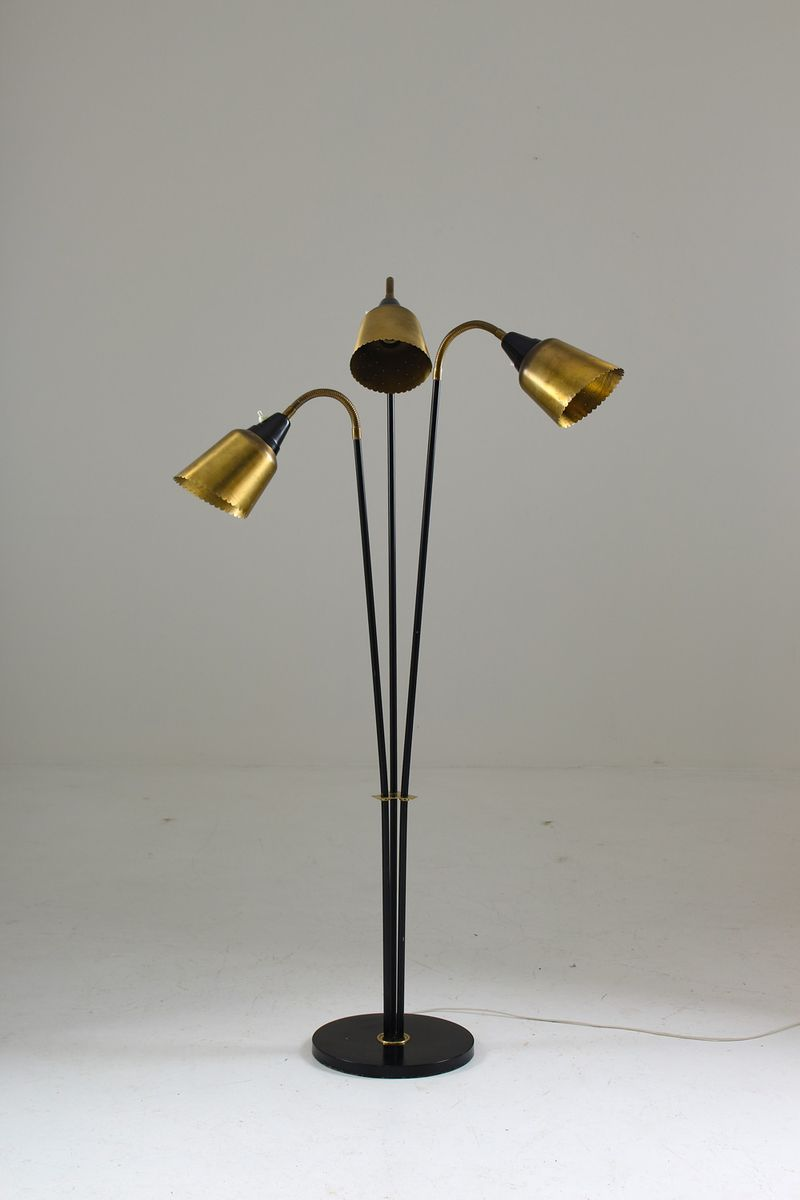 Mid Century Scandinavian Floor Lamp From Bor 233 Ns For Sale