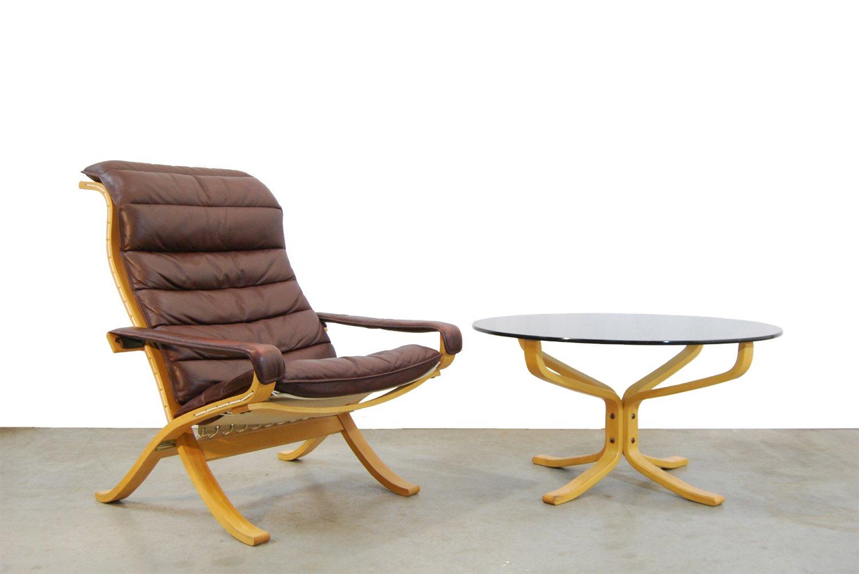 fauteuil flex vintage scandinave par ingmar relling pour westnofa 1970s en vente sur pamono. Black Bedroom Furniture Sets. Home Design Ideas