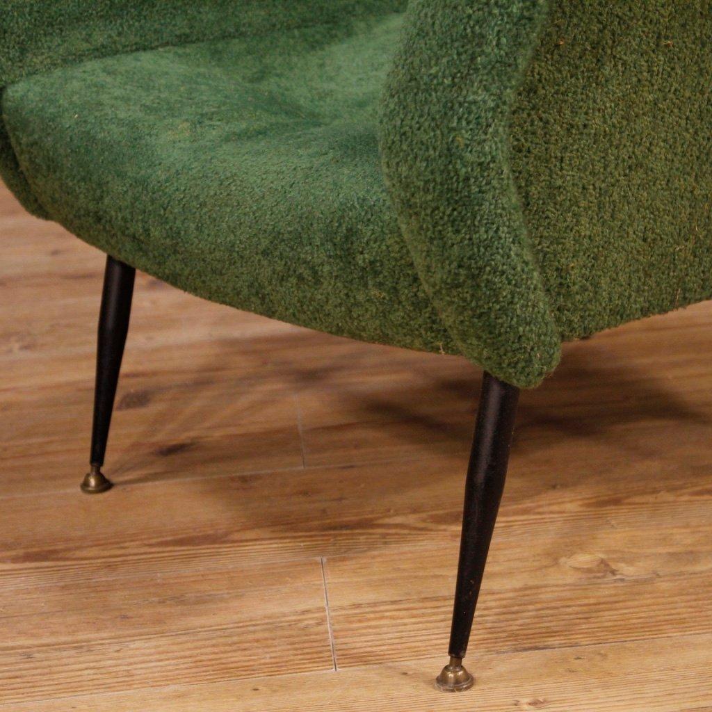 Gr Ne Italienische Sessel 1960er 2er Set Bei Pamono Kaufen