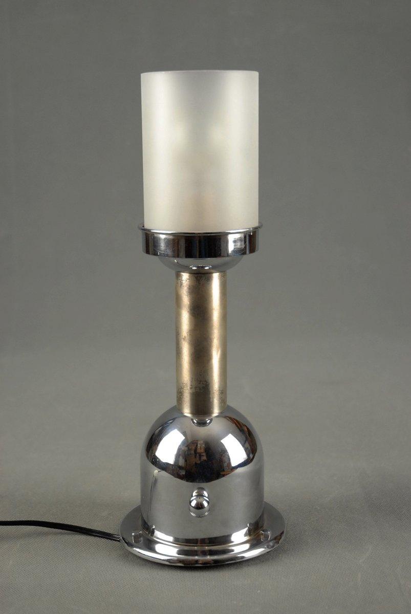Art Deco Tischlampe von Jean Boris Lacroix für Metis, 1930er